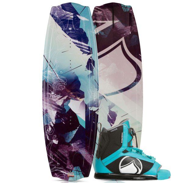 Liquid Force 2018 Angel Wakeboard | Plush Binding-0