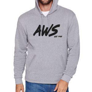 AWS Grey Boat Hoodie-0