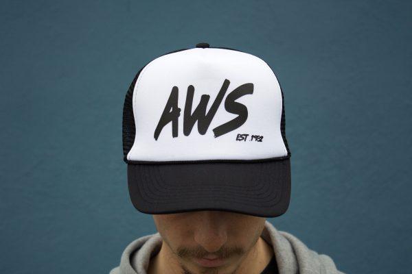 AWS Trucker Hat-4552