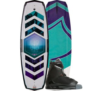 Liquid Force 2018 Jett Wakeboard | Transit Binding-0