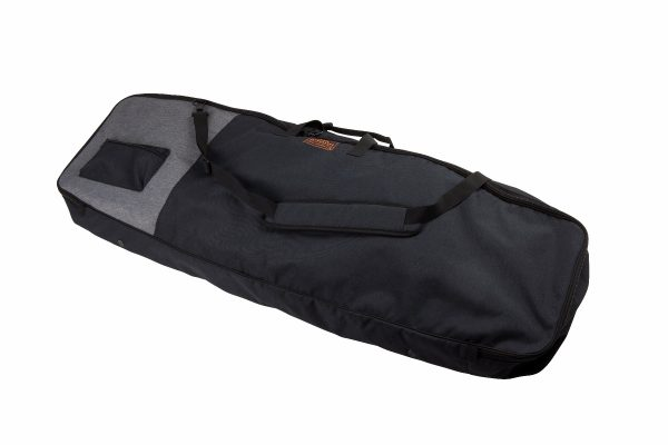 Ronix Collateral Non Padded Board Bag - Heather Charcoal / Orange-5541