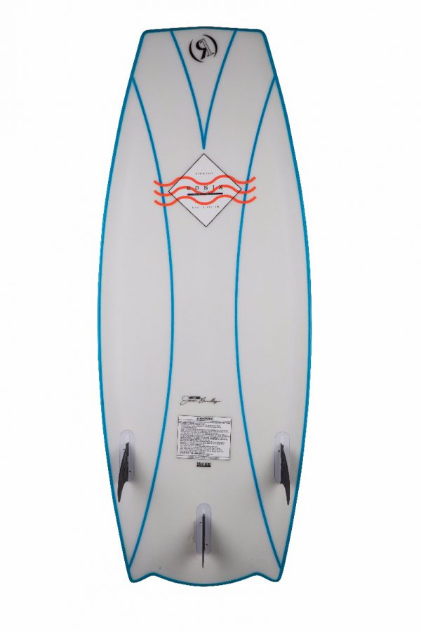 Ronix 2018 Naked Technology Potbelly Cruiser Wakesurf Board-5460