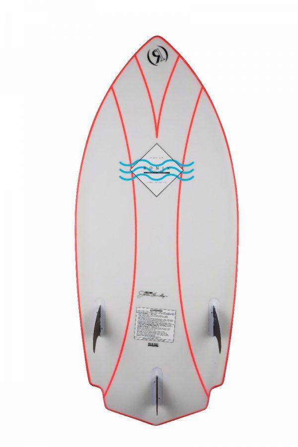 Ronix 2018 Naked Technology Potbelly Rocket Wakesurf Board-5454