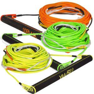 Ronix Combo 6.0 - Nylon Bar Lock - Hide Grip w/ R6 80ft Rope - Asst. Color-0