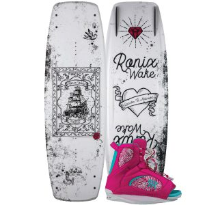 Ronix 2018 Quarter Til Midnight Wakeboard | Luxe Binding-0