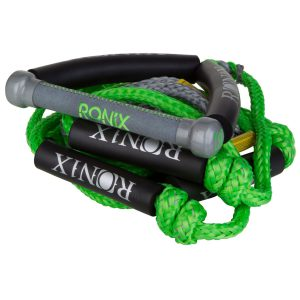 "Ronix Bungee Surf Rope-10"" Handle Hide Grip-25ft 4-Sect. Rope - Asst. Color-0"