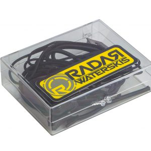 Radar Lace Lock Kit - Black -0