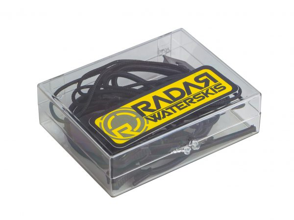 Radar Lace Lock Kit - Black -0