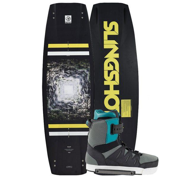 Slingshot 2018 Whip Wakeboard | Rad Binding-0