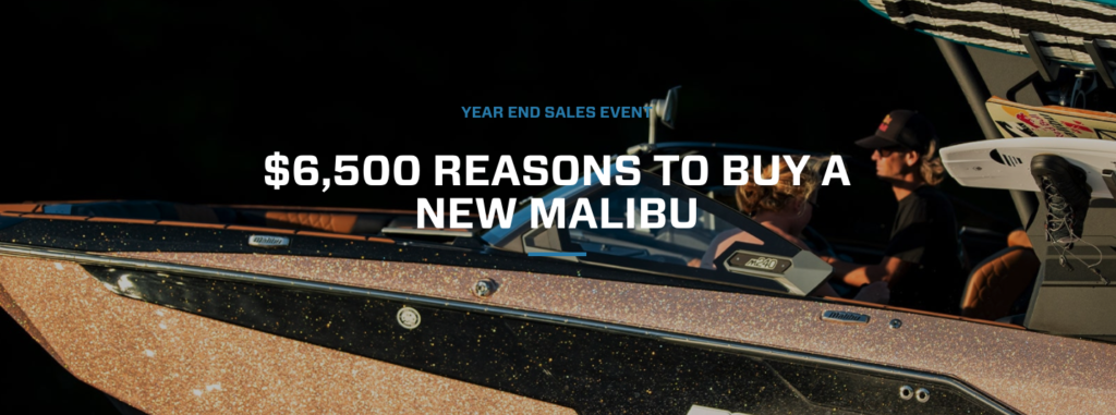 Malibu and Axis Year End Sales Event