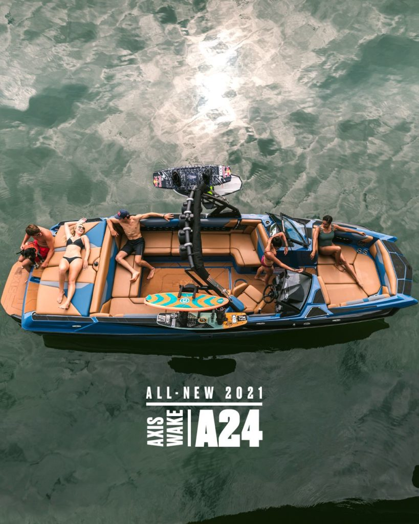 2021 Axis A24 Wakeboard Boat